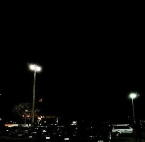Light posts at Ninoy Aquino International Airport Terminal 1.